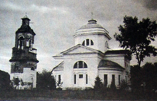 Церковь Рождества Богородицы в Пропойске (Славгороде). Фото 2000 г.