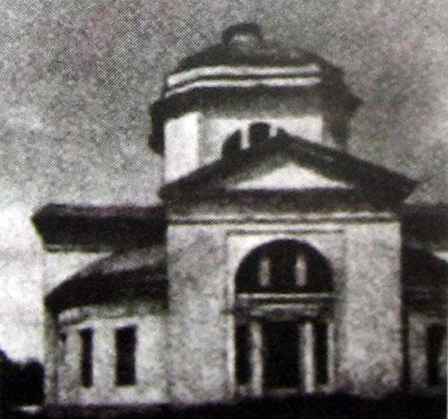 Церковь Рождества Богородицы в Пропойске (Славгороде). Фото 1970-х гг.