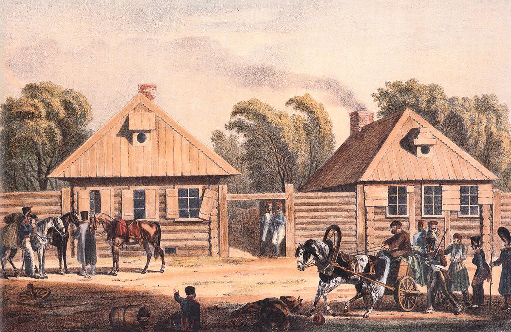 Гжатск, 4 сентября 1812 года