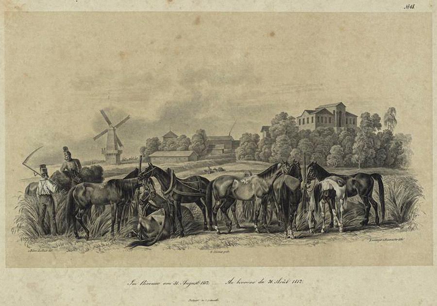 На биваке, 31 августа 1812 года