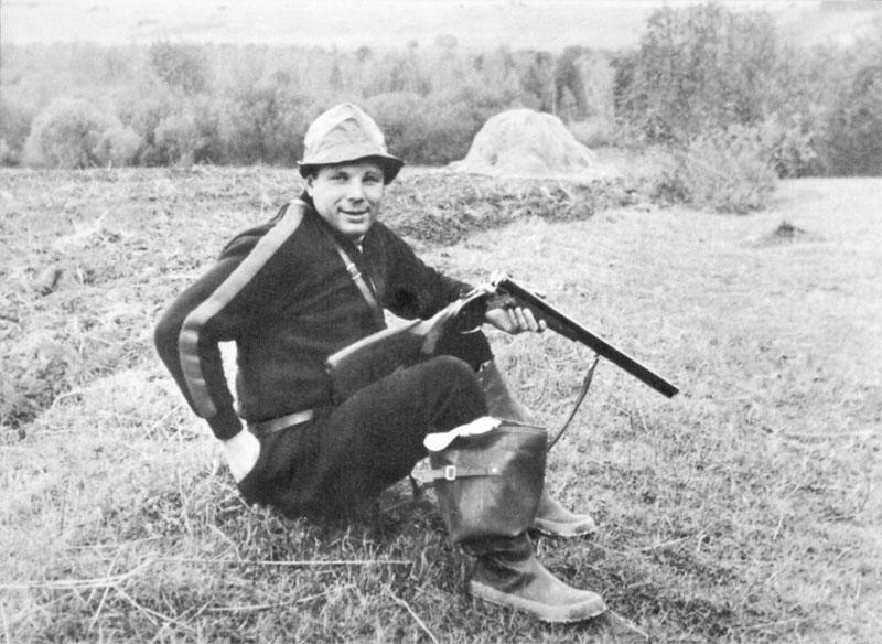 На охоте. Фото А. Лукашенко