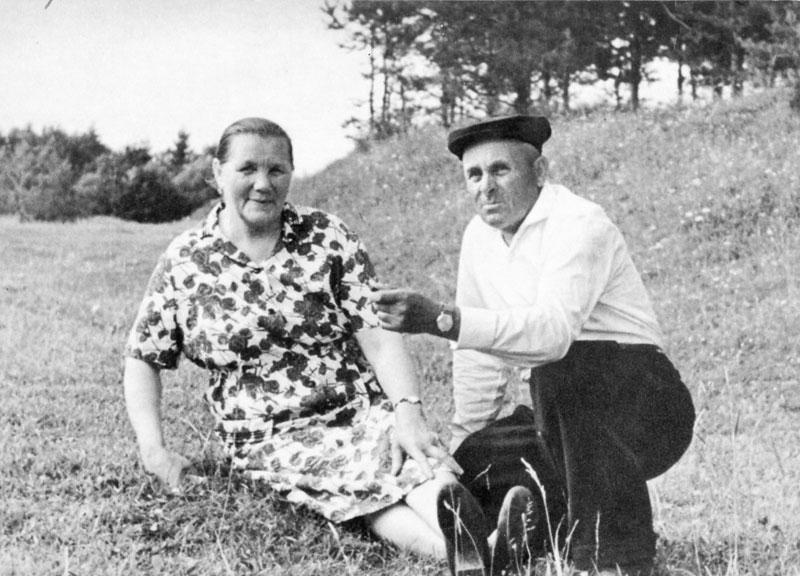 Родители Ю.А. Гагарина - Алексей Иванович и Анна Тимофеевна. Фото А. Лукашенко