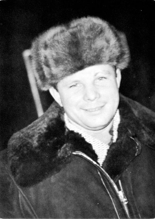 Ю.А. Гагарин. Фото А. Лукашенко