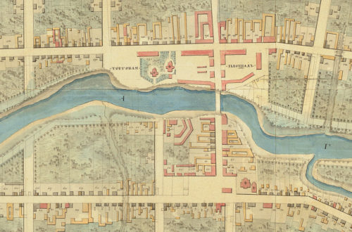 План Гжатска 1817