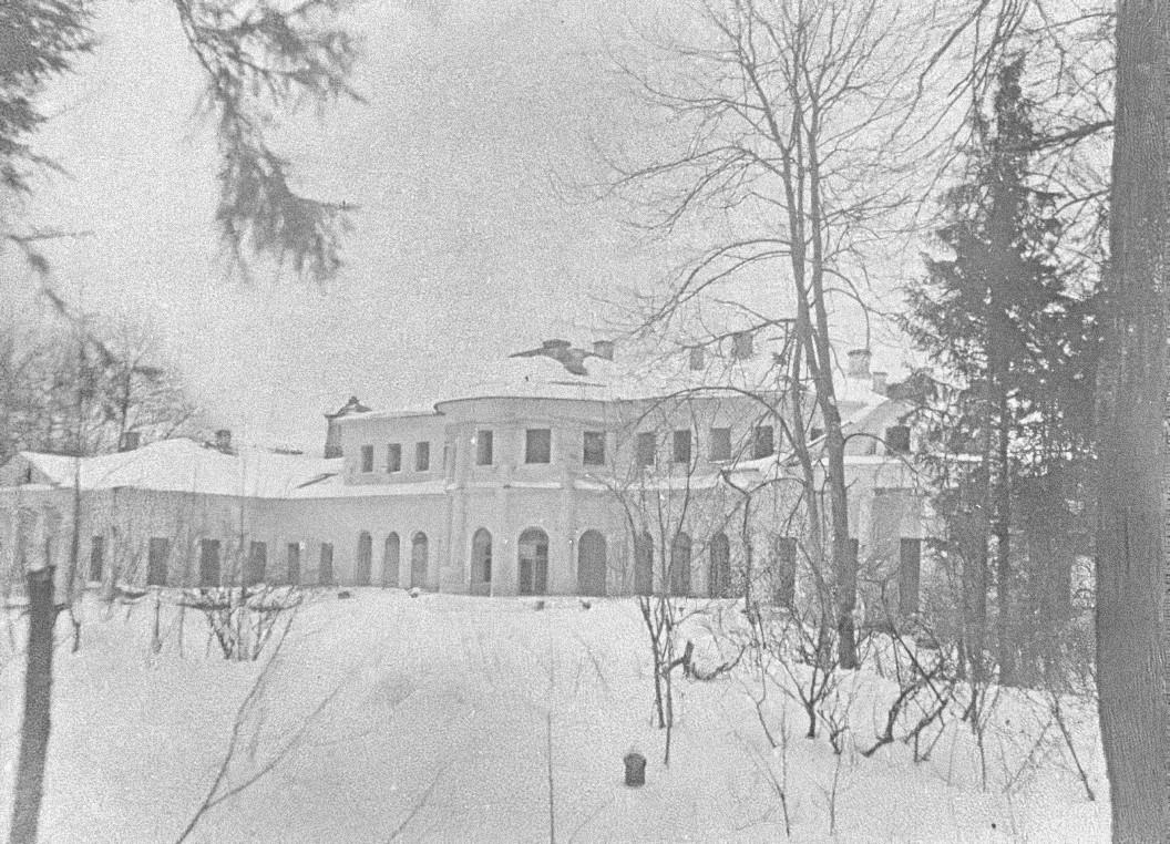 Усадьба Самуйлово. Усадебный дом со стороны парка.