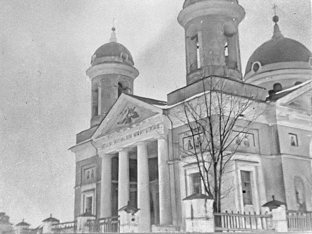 Село Самуйлово. Церковь Рождества Богородицы (построена в 1791 году).