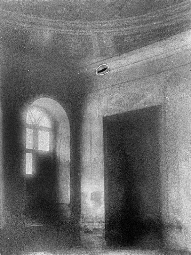 Усадьба Самуйлово. Интерьер усадебного дома.