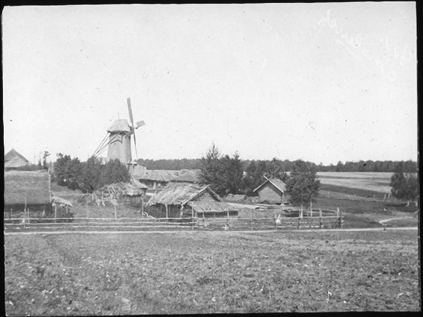 Деревня Рыльково. Лето 1903 года
