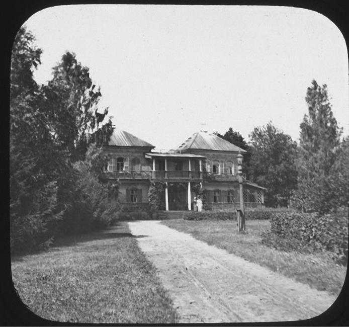 Дом Ячевских в Рыльково. Лето 1903 года