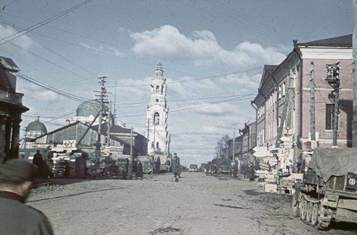 В оккупированном Гжатске, ноябрь 1941 года